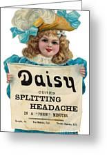 Daisy Headache Cure Greeting Card