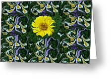 Daisy Poster Greeting Card