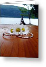 Daisy Unity Rings Greeting Card