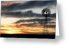 Dakota Days End Greeting Card