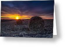Dakota Sunset Greeting Card
