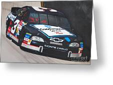 Dale Earnhardt At Bristol Greeting Card