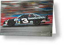 Dale Earnhardt Goodwrench Chevrolet Greeting Card