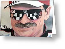 Dale Earnhardt Sr Greeting Card