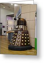 Dalek At The Bbc 2 Greeting Card
