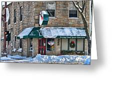 Dales Bar And Grill Greeting Card