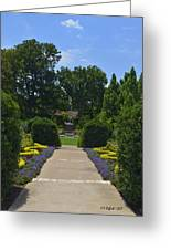 Dallas Arboretum Greeting Card