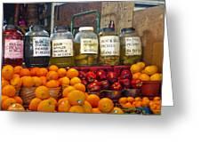 Dallas Farmers Market - Pickels? Greeting Card