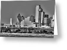 Dallas The New Gotham City  Greeting Card