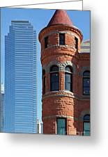 Dallas West End Old Red Museum Greeting Card