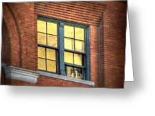 Dallas Window Greeting Card