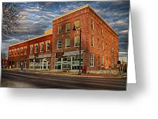 Daly Tea Building Greeting Card
