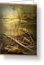 Dam Beavers Greeting Card