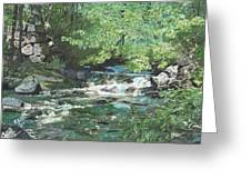 Dam Site Greeting Card
