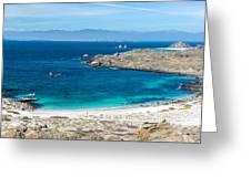 Damas Island Beach Greeting Card