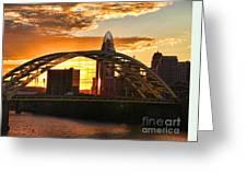 Dan C Beard Bridge 9917 Greeting Card