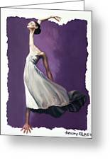 Dance For Him Greeting Card