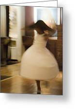 Dance Of The Flower Girl Greeting Card