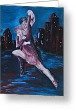 Dance The Night Away Greeting Card
