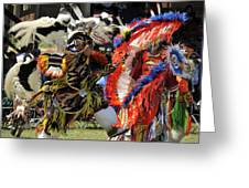 Dance To The Beat Of The Drum Greeting Card