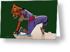 Dancer 26 Greeting Card