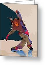 Dancer 40 Greeting Card
