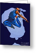 Dancer 56 Greeting Card