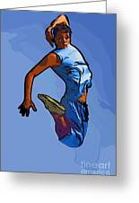 Dancer 58 Greeting Card