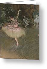 Dancer Taking A Bow  Greeting Card