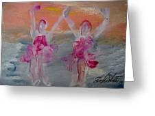 Dancers 135 Greeting Card