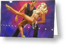 Dancer's Fantasy Greeting Card