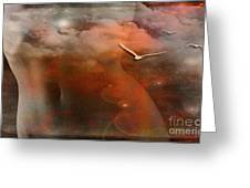 Dancing In Clouds... Greeting Card