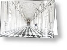 Dancing In The Galleria Grande Greeting Card