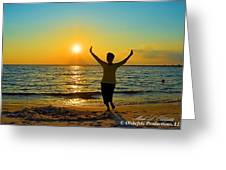 Dancing In The Sunlight Greeting Card