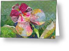 Dancing Orchid IIi Greeting Card