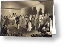 Dancing Party At Kagha-choura Greeting Card