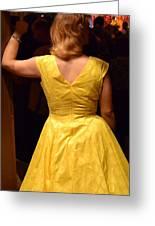 Dancing Queen II Greeting Card by Carlee Ojeda