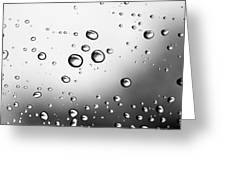Dancing Raindrops Greeting Card
