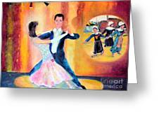 Dancing Through Time Greeting Card