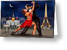 Dancing Under The Stars Greeting Card