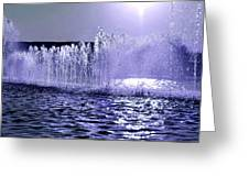 Dancing Water Greeting Card