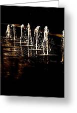 Dancing Waters Greeting Card