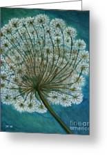 Dandelion Painting     Sold Greeting Card