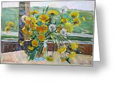 Dandelions Ordinary Greeting Card