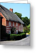 Dane Cottage Nether Wallop Greeting Card