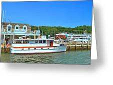 Danfords At Port Jeff Li Greeting Card