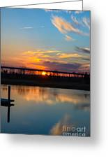 Daniel Island Sunset Greeting Card