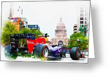 Daniel Ricciardo Of Australia Greeting Card