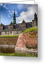 Danish Castle Kronborg Greeting Card