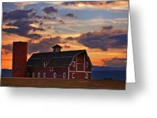 Danny's Barn Greeting Card by Darren  White